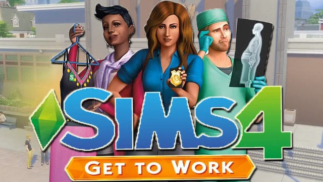 シムズ4 get to work sims world